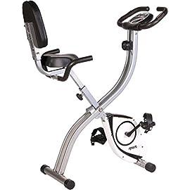 Sport Plus Cyclette Pieghevole • cardiofrequenzimetro • Training Computer • S-Bike con & Senza Schienale • Home Trainer…