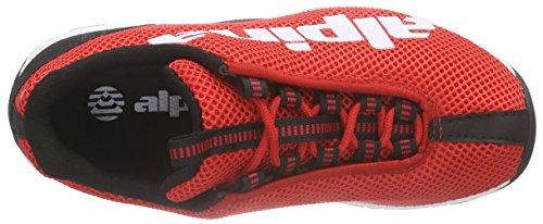 Alpina 680267, Chaussures de randonnée mixte adulte Rot (Red)