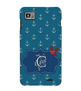 EPICCASE anchor of C Mobile Back Case Cover For Lenovo K860 (Designer Case)