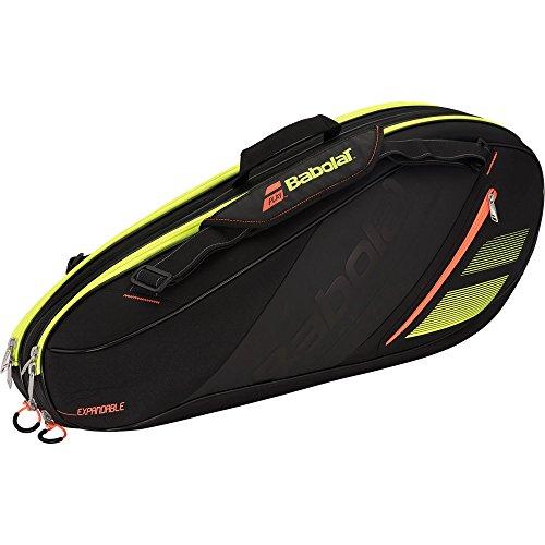 Babolat sac expandable team line 10 raquettes 751156 264 noir/orange/jaune
