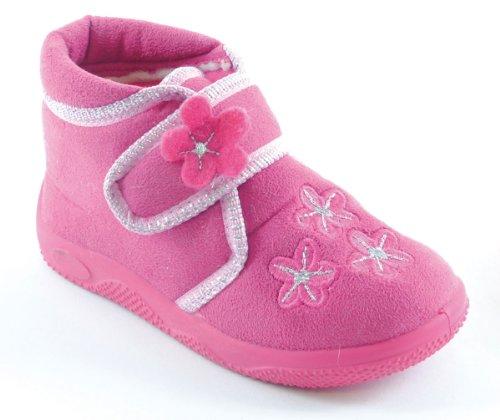 Socks Uwear , Jungen Hausschuhe Pink