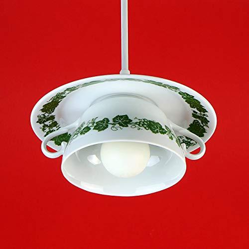 Vintage Tassenlampe Lampe aus Tasse