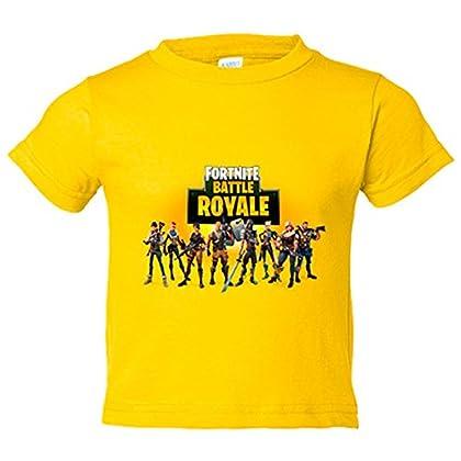 De seguro quieres ir por la calle y que todo el mundo se dé cuenta de que tú eres uno de aquellos que participa en los campos de batalla, con una camiseta fortnite de seguro lo sabrán!