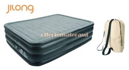 Materasso-Gonfiabile-Memory-Foam-QUEEN-pompa-elettrica-integrata-il-migliore-in-circolazione