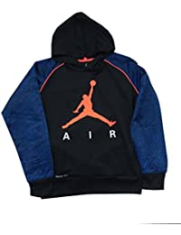 Nike Air Jordan Therma Fit Sweat à Capuche Taille L Bleu Noir Orange 2ca43b1a1e82