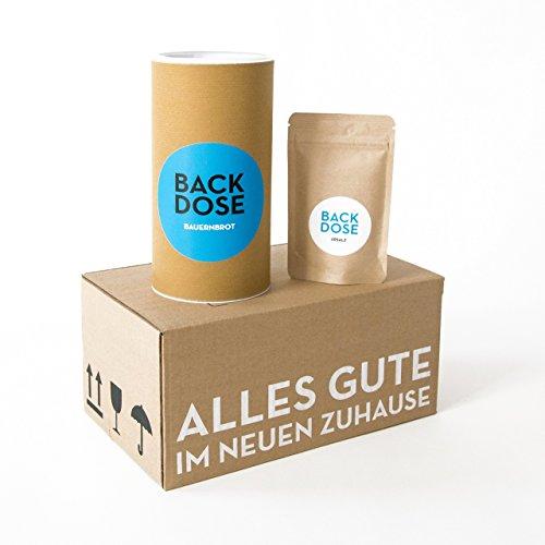 Preisvergleich Produktbild Brot und Salz Box - BACKDOSE - Umzugsgeschenk,  Einzugsgeschenk,  EInweihungsgeschenk