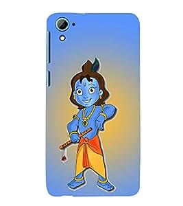 PrintVisa Lord Shri Krishna Kanhaiya 3D Hard Polycarbonate Designer Back Case Cover for HTC Desire 826 Dual Sim