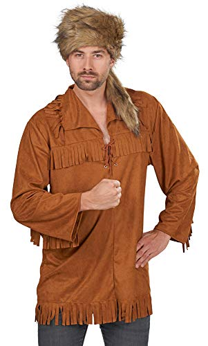 Andrea-Moden Trapper-Hemd in braun | Trapper-Kostüm ()