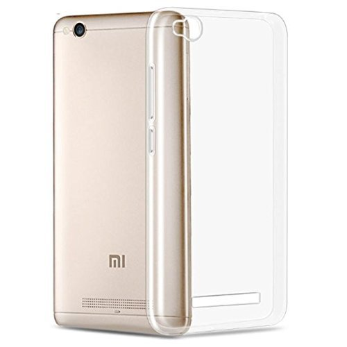 new deals Full Protection Premium Clear Tpu Back Case Cover For Xiaomi Mi Redmi 4A (Transparent)