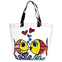 ROMERO BRITTO Strandtasche - Deeply in Love
