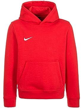 Nike YTH Team Club Hoody, Sudadera con Capucha para niño, Rojo (University Red/Football White), S (128-137)