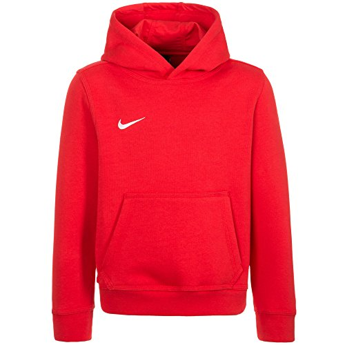 Nike Jungen Unisex Kapuzenpullover Team Club, Rot (University Red/football White), XL (Pullover Mädchen Rote)
