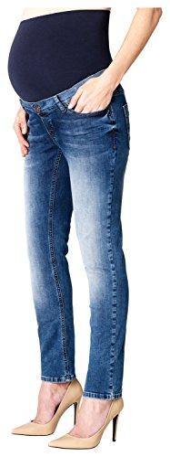 ESPRIT Maternity Pants Denim Otb Slim, Jeans Maternità Donna, Blu (Stonewash 930), W36