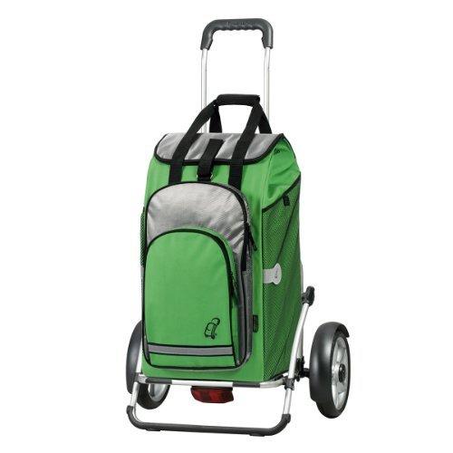 Andersen Shopper Royal Plus mit kugelgelagertem Rad 25 cm und 60 Liter Einkaufstasche Hydro grün mit Kühlfach