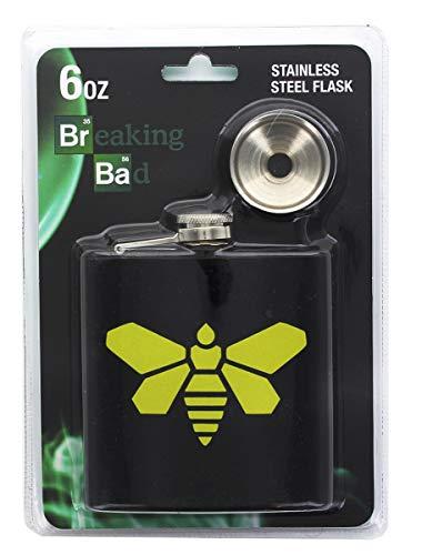 Breaking Bad Golden Moth Chemical Logo 6oz Flask