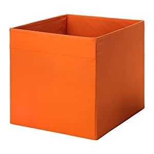ikea dr na box in orange 33x38x33cm passend f r expedit und kallax regale k che. Black Bedroom Furniture Sets. Home Design Ideas