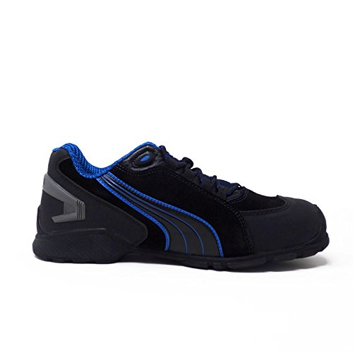 Puma Safety Footwear Mens Rio Low Suede S3 Rated Toe Cap Safety Shoes