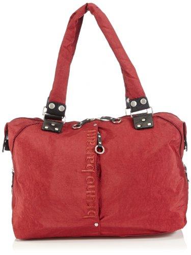 Bruno Banani Weekender FB 32.639, Damen Shopper, Rot (bordeaux), 45x35x20 cm (B x H x T)