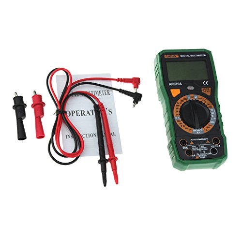 Baoblaze Auto Ranging Digital Multimeter Maximum/Minimum-Messung und NCV-Test - Grün