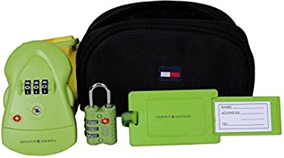 Tommy Hilfiger Lime Luggage Lock and Strap (TH/TCK11A17LIM)