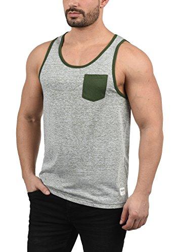 !Solid Tell Herren Tank Top Mit Rundhalsausschnitt Regular Fit, Größe:S, Farbe:Deep Lich (3077) -
