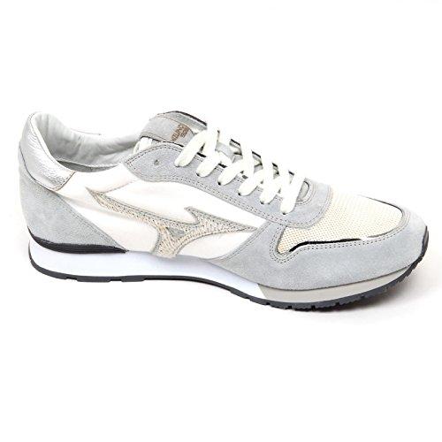 Mizuno D2724 Sneaker Uomo Etamin Tissue Grey Shoe Men Grigio/Bianco