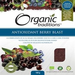Organic Traditions Antioxidant Berry Blast 100g x 1