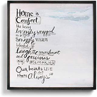 Demdaco Home Komfort ist Art Wand Home Decor Akzente