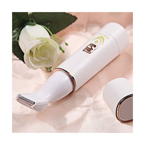 Trimmer WomenLadies Bikini Trimmer Rechargeable Eletronic USB Charging Wet Dry Hair Remover Nose Hair Trimmer Eyebrow Shaper Foil Sharver Facial Arms Legs Armpit Body Trimmer Epilator