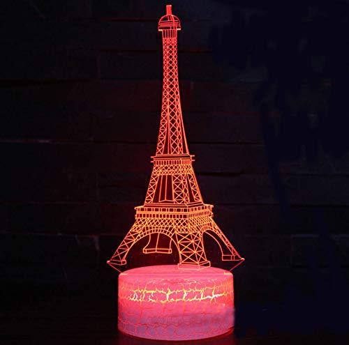 k 3D Lampe Spiel Led Nachtlicht 7 Farbwechsel Touch Mood Lampe ()