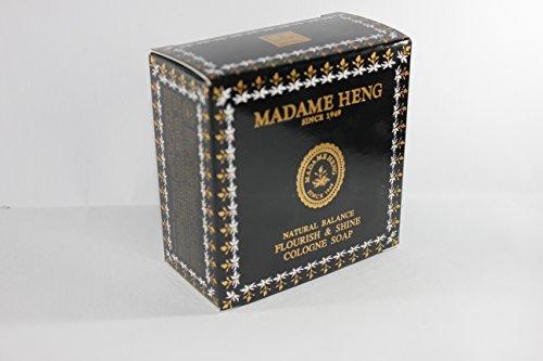 Madame Heng Original Seifenriegel, 150 g, Kräuterpflege Spa Mint - Gesichter Lotion Bekannte
