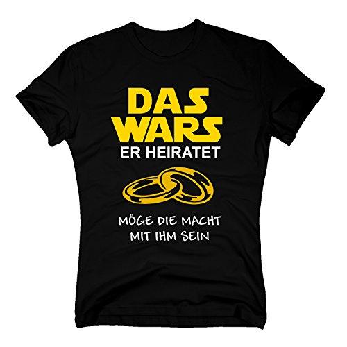 Das Wars Herren T-Shirt - Er Heiratet - -