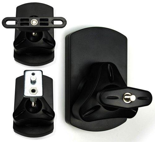 2x Rótula de Soporte de Pared para Altavoces-Tipo SB de 38-Keyhole de...