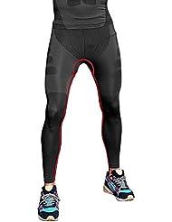 CHIC-CHIC Sport Compression Tight Pants Compression couche de base de course Pantalons Hommes Femmes Collant Jogging Fitness