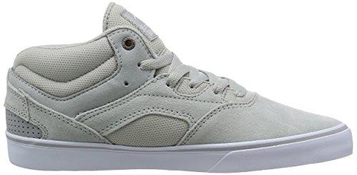 Emerica Westgate Mid Vulc, Herren Skateboardschuhe Grey/White