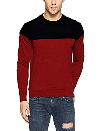 Veirdo Men's Cotton Sweatshirt - Multicolor