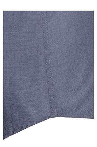 Seidensticker -  Camicia classiche  - Regular - Classico  - Maniche a 3/4 - Uomo Grigio