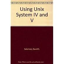Using Unix System IV and V