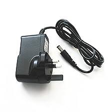3rd Party Sega Master System / Mega Drive 1 - 9V 1A Power Supply Adapter