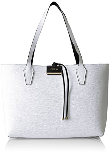 Guess Bobbi, Sacs portés épaule Multicolore (White Black)
