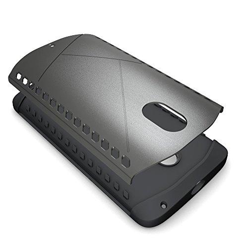 Moto G3 Coque,EVERGREENBUYING Ultra Slim 2 léger couche Moto G G3 (3rd Gen, 2015) Premium TPU Souple Etui de Protection, absorbant les chocs Anti-rayures Case Cover pour Motorola MOTO G (3rd Generatio Bleu