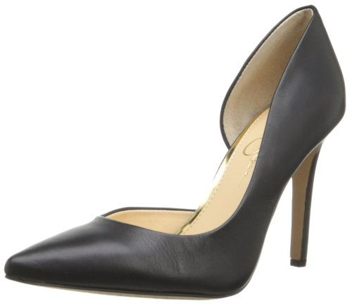 Jessica Simpson Claudette Donna D 'orsay pompe Abito scarpe Taglie UK, nero (Black Alsina Leather), 36 EU