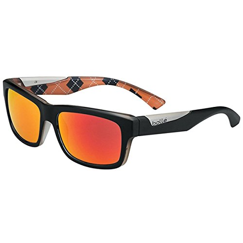 Bollé Sonnenbrille Jude Mat Black/Orange, M