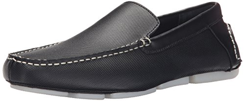Calvin Klein Miguel Diamant Perf Slip-on Loafer Black