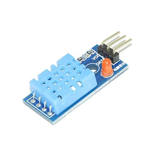 FBlue DHT11 DHT11 Digital Temperatur und Relative Feuchte-Sensor-Modul für Arduino -