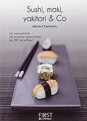 Petit livre de - Sushi, maki, yakitori, bento and co