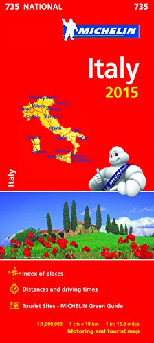 Italy 2015 National Map 735 par Michelin
