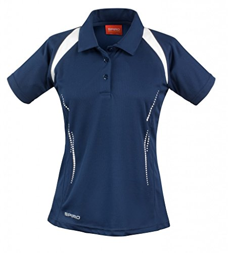 Result - Polo - Manches courtes - Femme Multicolore - Multicoloured - Navy/White