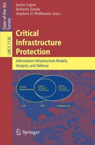 Critical Infrastructure Protection: Advances in Critical Infrastructure Protection: Information Infrastructure Models, Analysis, and Defense (Lecture Notes in Computer Science) (2012-03-27)