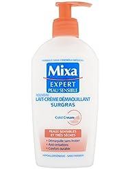 Mixa Expert Peau Sensible Lait-Crème Démaquillant Surgras Cold Cream 200 m